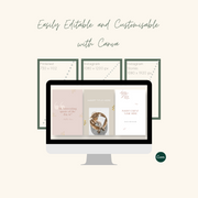 Eco-Luxe Social Media Templates: Pinterest & Instagram