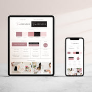 Brand Board Templates Helps you design your brand package