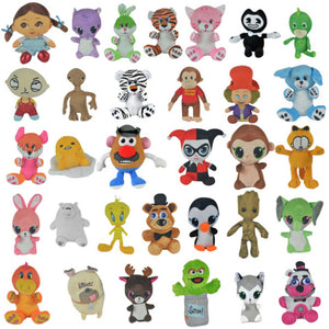 50% Licensed Plush Mix
