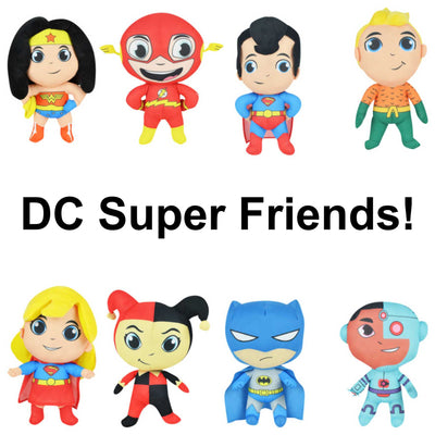 Jumbo DC Super Friends Plush