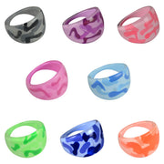 "2"" Camouflage Rings in Bulk 7 cents"