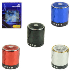 Metallic Diamond Pattern Bluetooth Speaker 3.5 inch $.8.00 each / packed 15 pcs per case