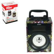 Graffiti Print Bluetootch Speaker 6 inch $8.50 each / packed 12 pcs per case
