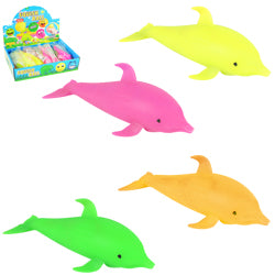 Squeeze Foam Dolphin 6 inch $.65 each / packed 144 pcs per case