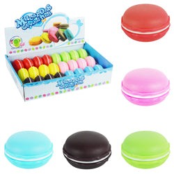 Macarron Cookie Putty $1.00 each / packed 96 pcs per case