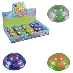 UFO Spaceship Slime $1.00 each / packed 96 pcs per case