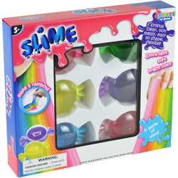 Crystal Slime Candy Set $ 5.75 each / packed 24 pcs per case