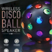 Wireless Disco Ball Bluetooth Speaker $24.95