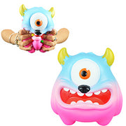 Jumbo Squishy Bug-Eyed Monster 8 inch $.90 each / packed 120 pcs per case