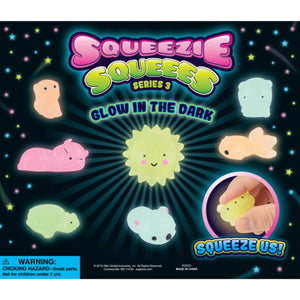 "2"" Capsule Glow in the Dark Squeezie Squeees"