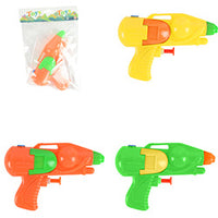 Colorful Water Shooters 4 inch $ .25 each / packed 420 pcs per case