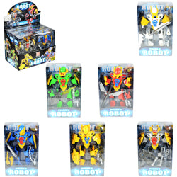 Police Legend Transforming Robot $3.00 each / packed 36 pcs per case