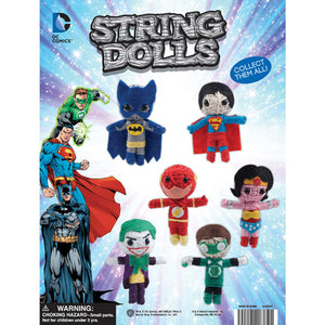 "2"" Capsule DC Comics String Dolls"
