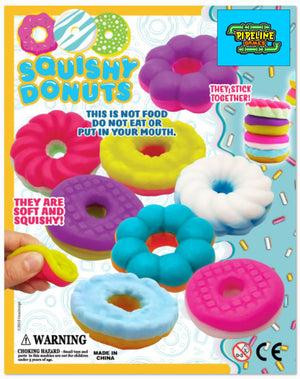 "2"" Squishy Donuts 25 cents"