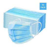 Masks 3 ply disposable 50 pcs  - Shipping from NJ Warehouse !