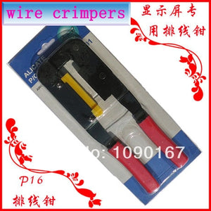 Ribbon Cable Crimping Plier For flat cable,computer/LED display data transfer wire - good one to have when you need it