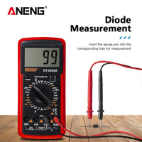 LCD Digital Multimeter  - Full range meter  - smaller but powerful - Get a couple and leave them  everywhere .