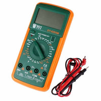 Large LCD Digital Multimeter  - Great when you don't have your glasses .. Good General purpose meter . Buy a few to keep them around