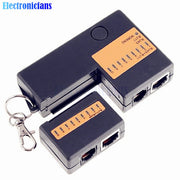 Portable Mini Network Cable Tester Tools RJ45 RJ11 RJ12 Network LAN Cable Tester With Key Chain
