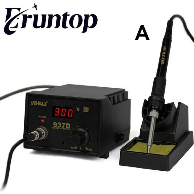 High quality 110v 45W automatic and antistatic soldering station with digital temperature control