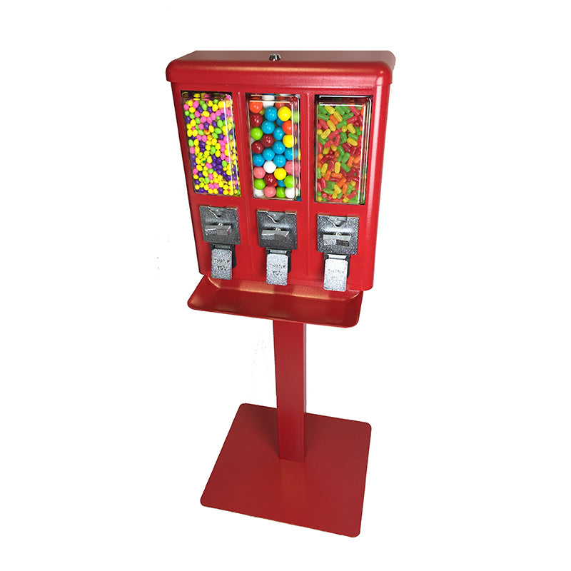Triple Shop Gumball and Candy Bulk Rack