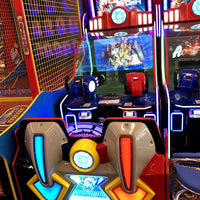 Robot Storm - 2 player ball shooting video game