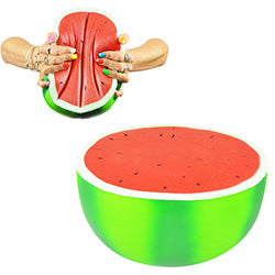 Jumbo Squishy Watermelon 11 inch $.95 each / packed 120 pcs per case