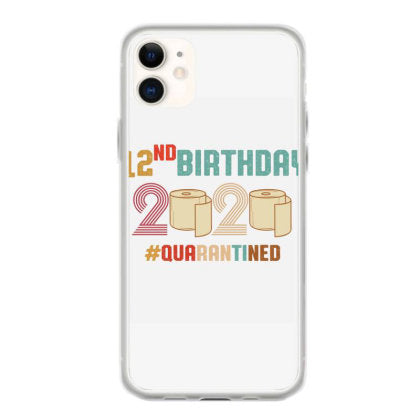 12nd birthday quarantine retro vintage iphone 11 hoesjes