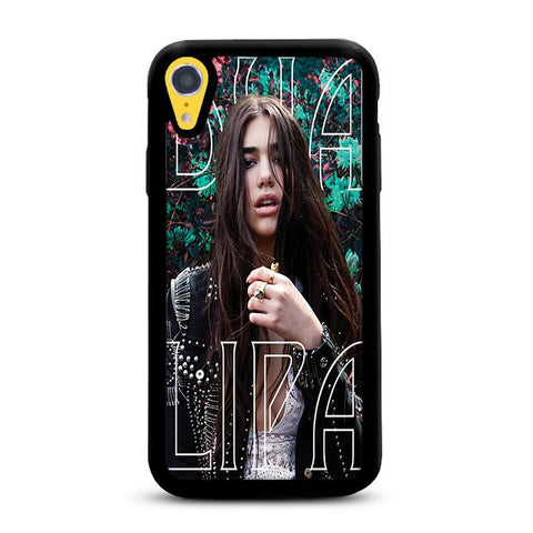 Dua Lipa Flower Garden iPhone XR hoesjes