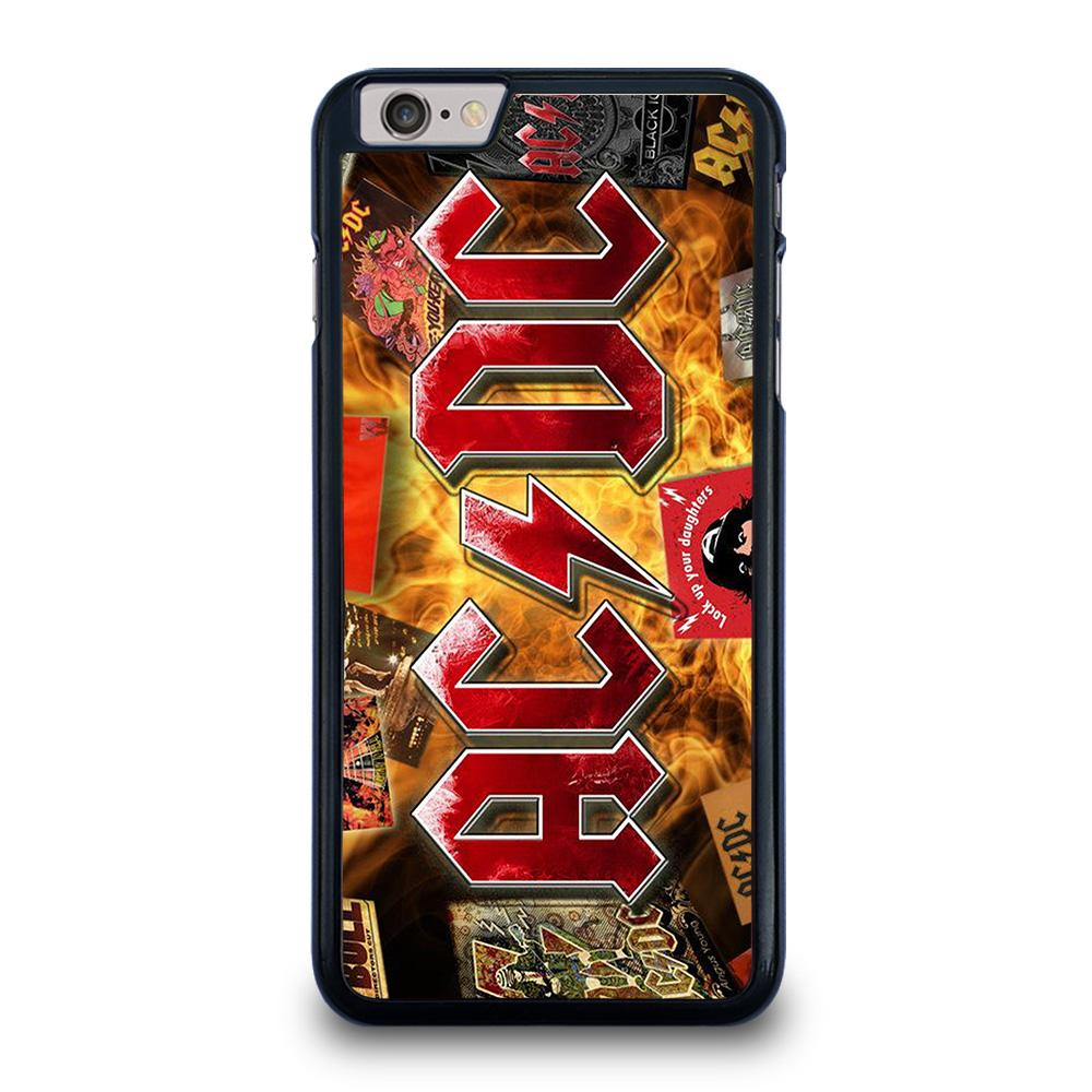 ACDC BAND LOGO ALBUM iPhone 6 / 6S Plus Hoesje