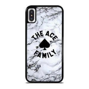 ACE FAMILY MARBLE LOGO iPhone X / XS Hoesje