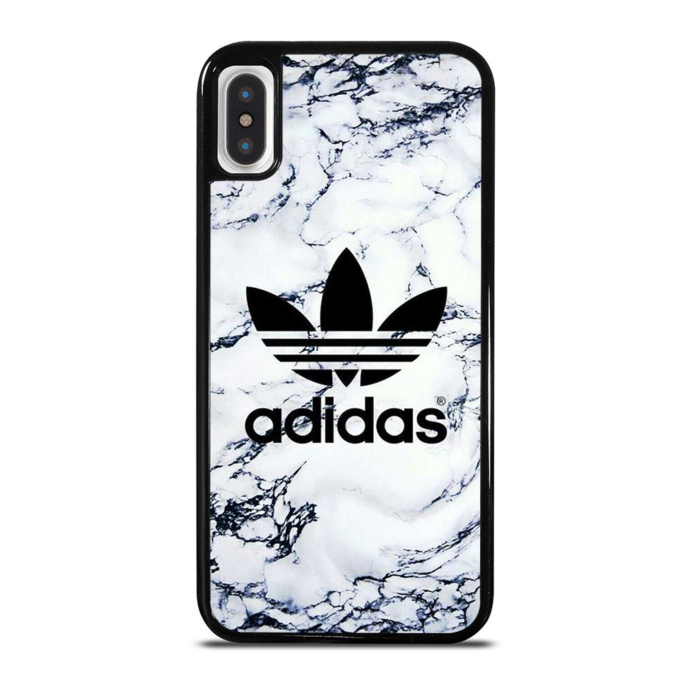 ADIDAS LOGO MARBLE iPhone X / XS Hoesje