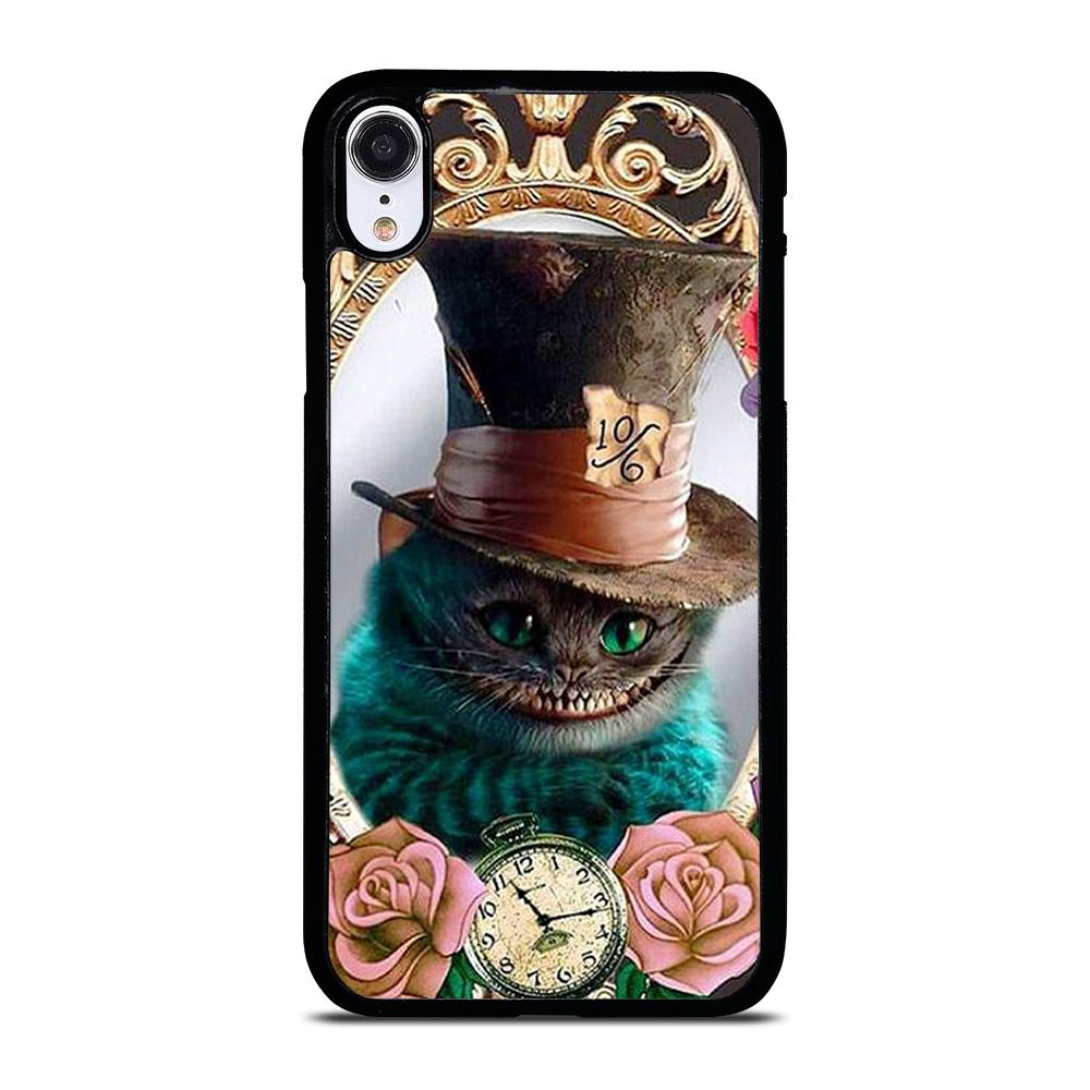 ALICE IN WONDERLAND CAT CUTE iPhone XR Hoesje,iphone xr hoesje hardcase apple xr hoesje,ALICE IN WONDERLAND CAT CUTE iPhone XR Hoesje