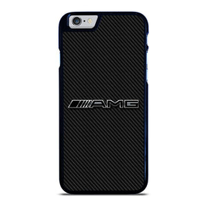 AMG MERCEDES BENZ LOGO CARBON iPhone 6 / 6S hoesje