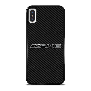 AMG MERCEDES BENZ LOGO CARBON iPhone X / XS Hoesje