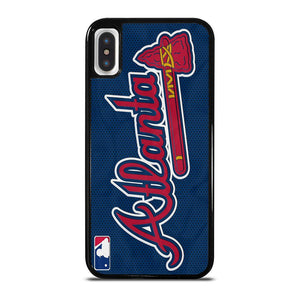 ATLANTA BRAVES JERSEY ICON iPhone X / XS Hoesje