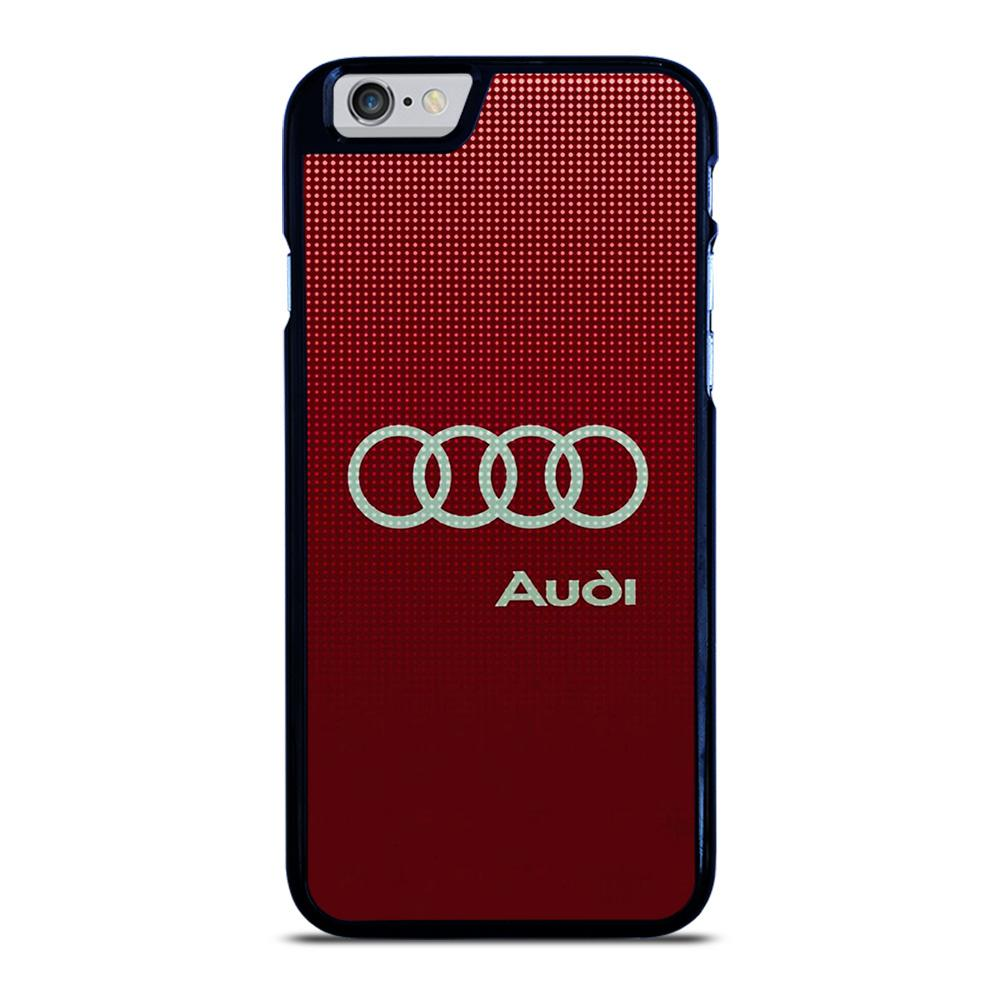 AUDI LOGO RED iPhone 6 / 6S hoesje