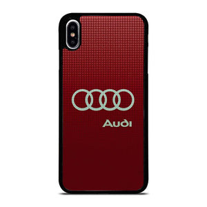 AUDI LOGO RED iPhone XS Max Hoesje,iphone xs max hoesje iphone xs max hoesje,AUDI LOGO RED iPhone XS Max Hoesje