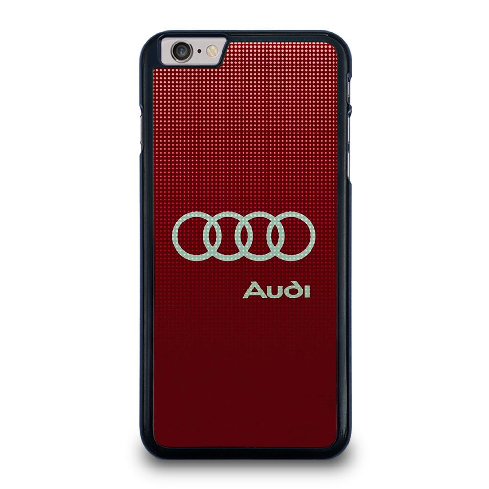 AUDI LOGO RED iPhone 6 / 6S Plus Hoesje