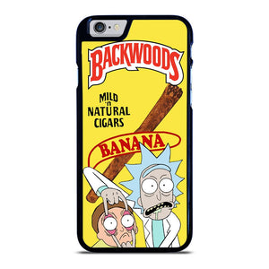 BACKWOODS RICK AND MORTY iPhone 6 / 6S Hoesje - samsung hoesjes|iphone hoesjes|huawei hoesjes favohoesje.nl
