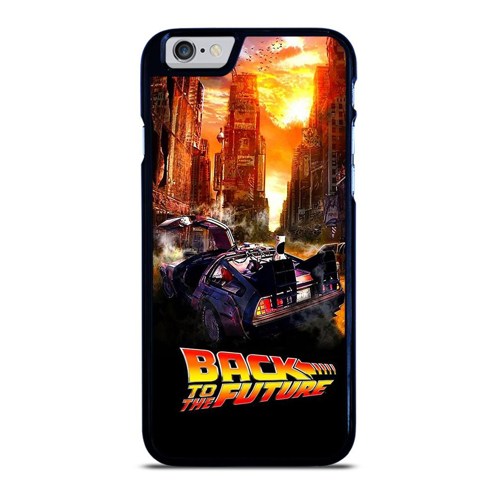 BACK TO THE FUTURE ART iPhone 6 / 6S hoesje