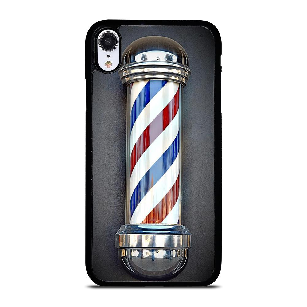 BARBER POLE HAIR CUT SYMBOL iPhone XR Hoesje,iphone xr hoesje siliconen iphone xr hoesje rood,BARBER POLE HAIR CUT SYMBOL iPhone XR Hoesje