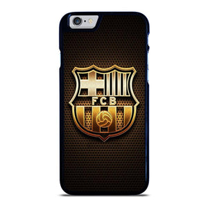 BARCELONA FC GOLD LOGO iPhone 6 / 6S hoesje