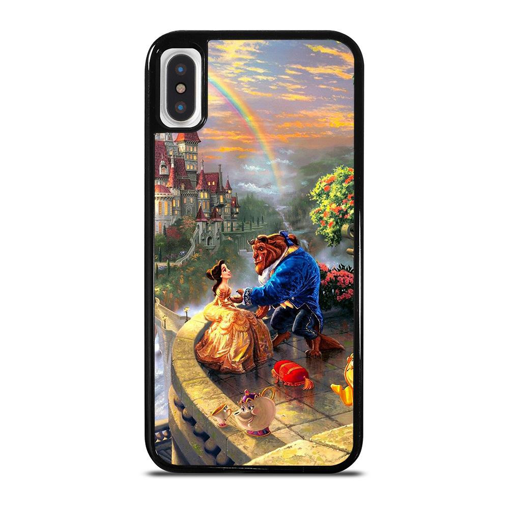 BEAUTY AND THE BEAST ART iPhone X / XS Hoesje