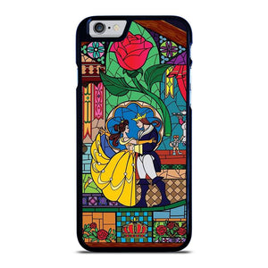 BEAUTY AND THE BEAST SETENED GLASS iPhone 6 / 6S hoesje