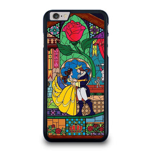 BEAUTY AND THE BEAST SETENED GLASS iPhone 6 / 6S Plus Hoesje