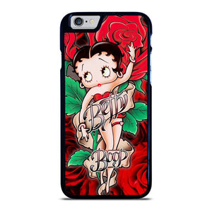 BETTY BOOP FLORAL iPhone 6 / 6S Hoesje