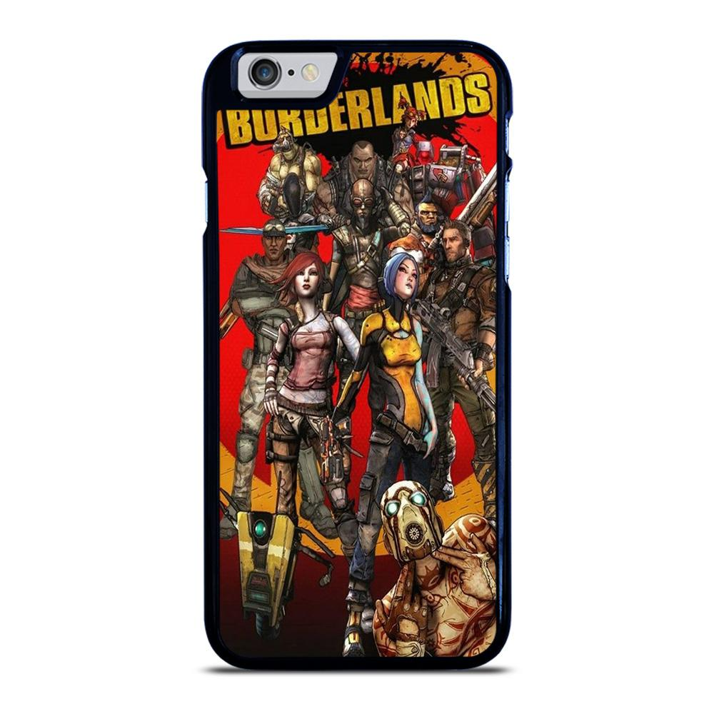 BORDERLANDS ALL CHARACTER iPhone 6 / 6S hoesje