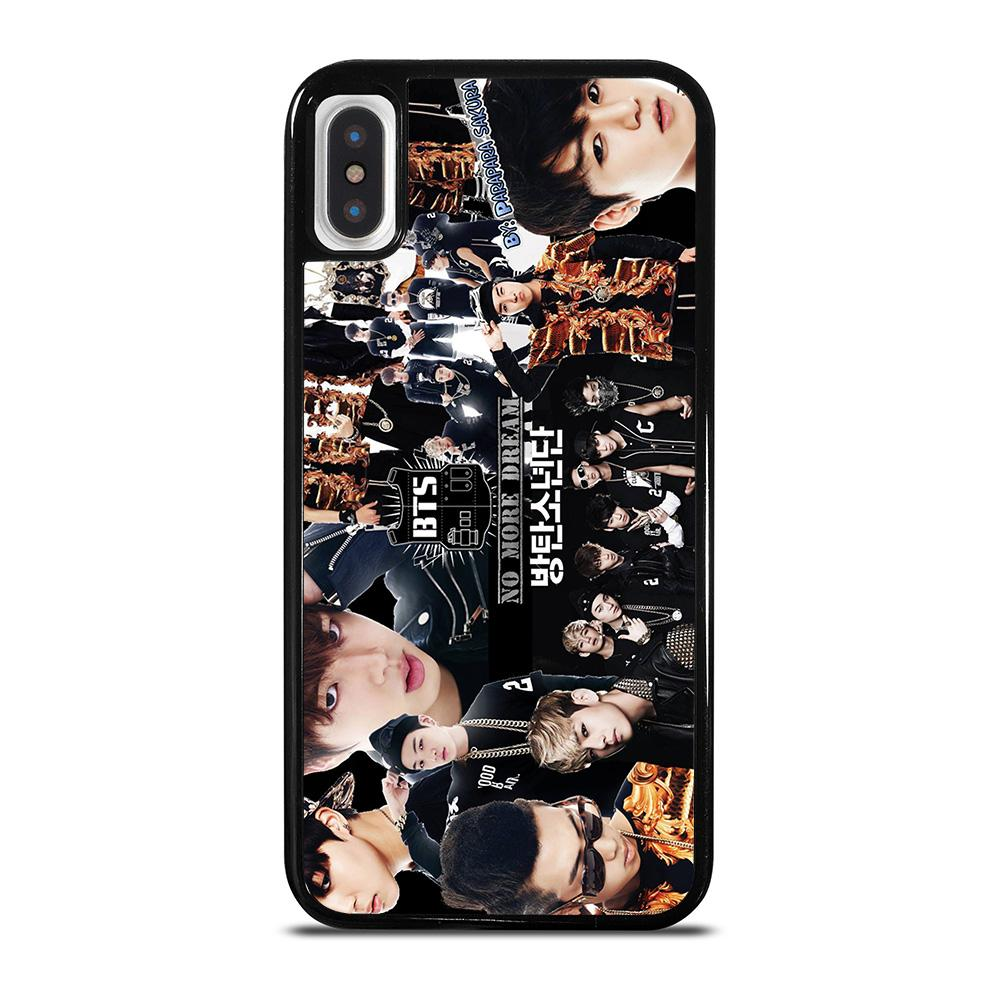BTS BANGTAN BOYS COLLAGE iPhone X / XS Hoesje