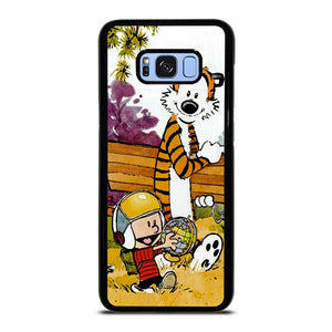 CALVIN AND HOBBES CARTOON Samsung Galaxy S8 Plus Hoesje,samsung s8 plus hoesje action samsung galaxy s8  hoesje,CALVIN AND HOBBES CARTOON Samsung Galaxy S8 Plus Hoesje